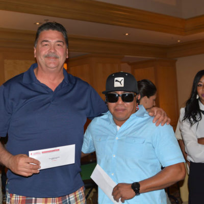 Omega Products International golf tournament