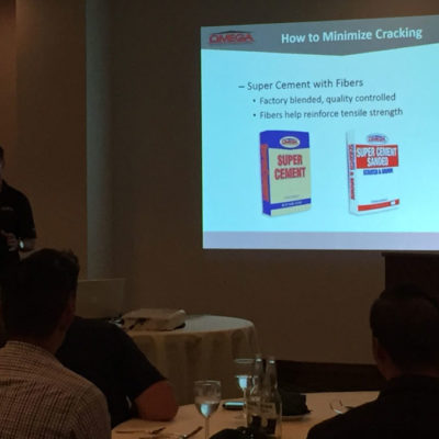 Omega Products International - SCPC Event - Stucco Cracking